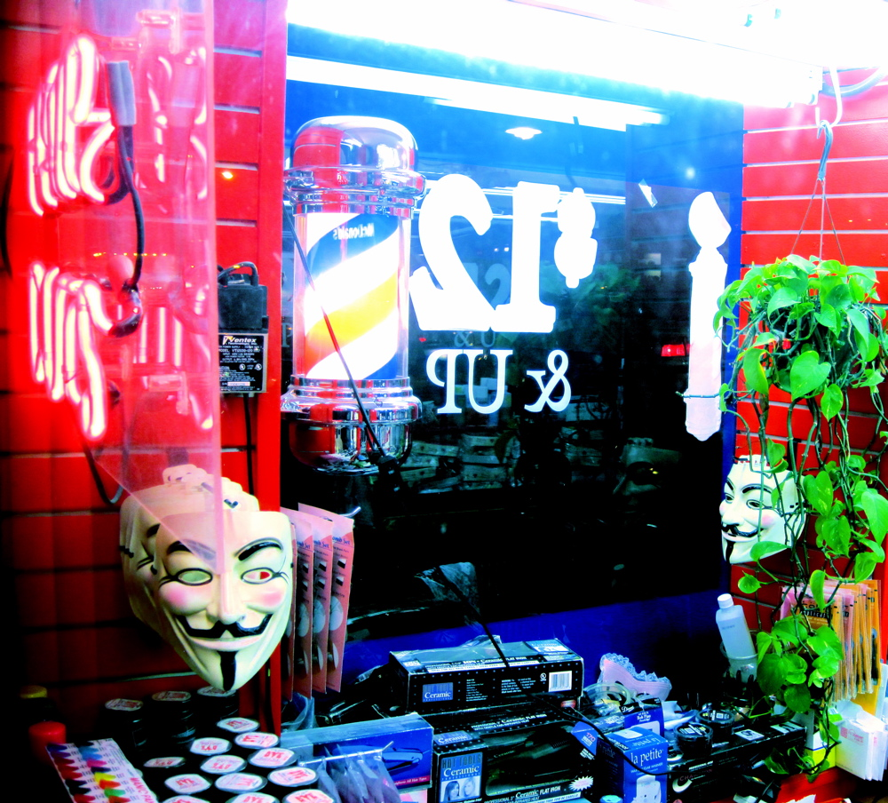 Guy Fawkes Hair Salon 112