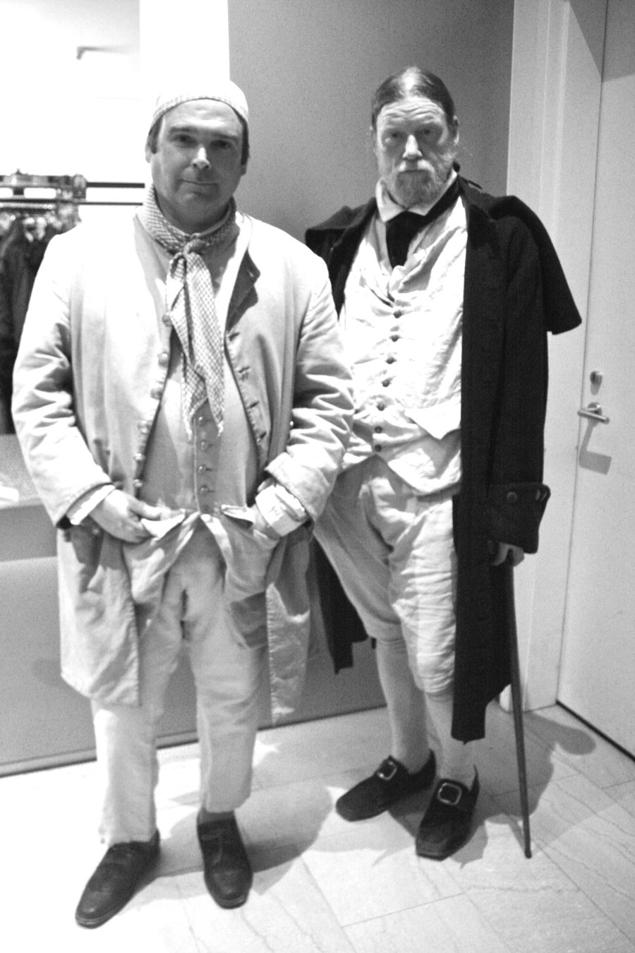 boston museum of fine arts men in colonial outfits