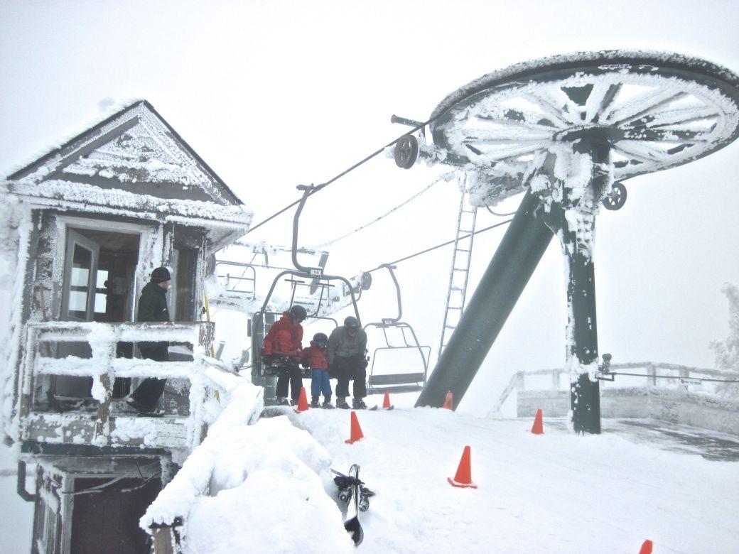 sugarbush frozen lifts