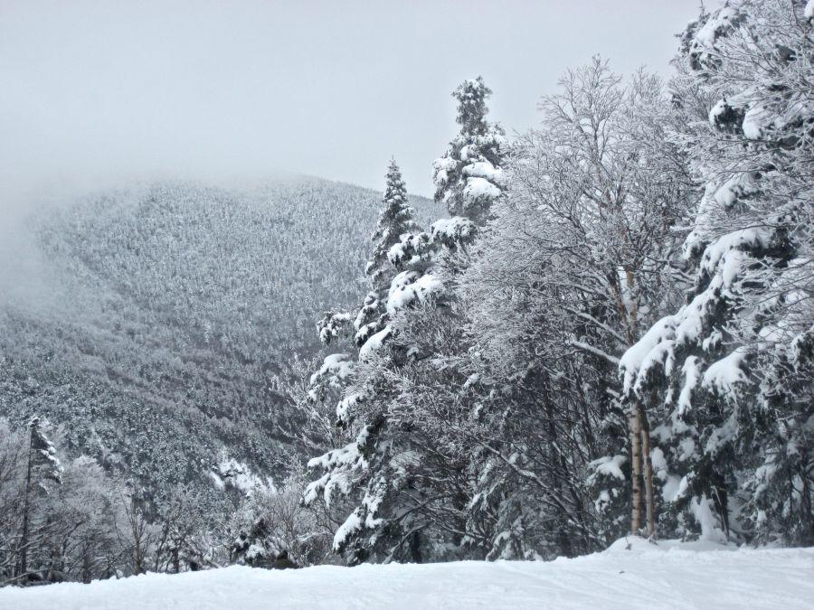 sugarbush heavens gate fog mountain