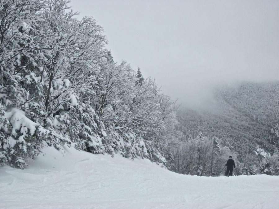 sugarbush heavens gate skier