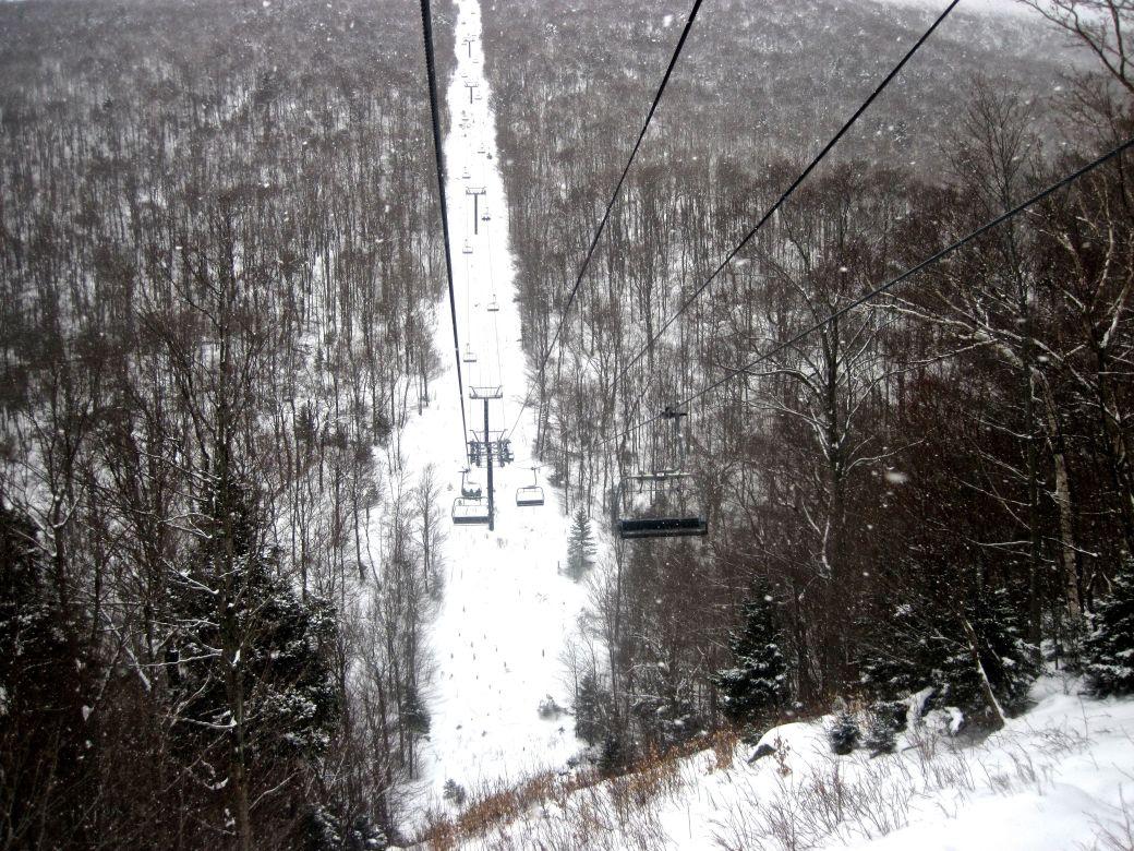 sugarbush mount ellen lift 2