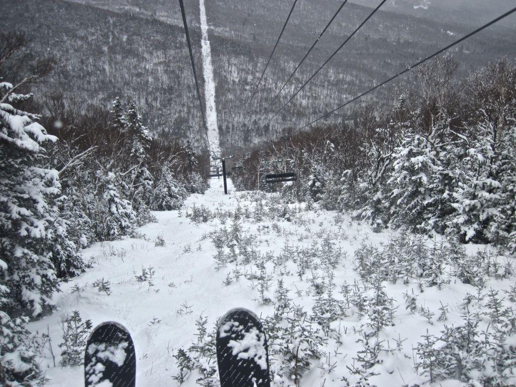 sugarbush mount ellen lift skis