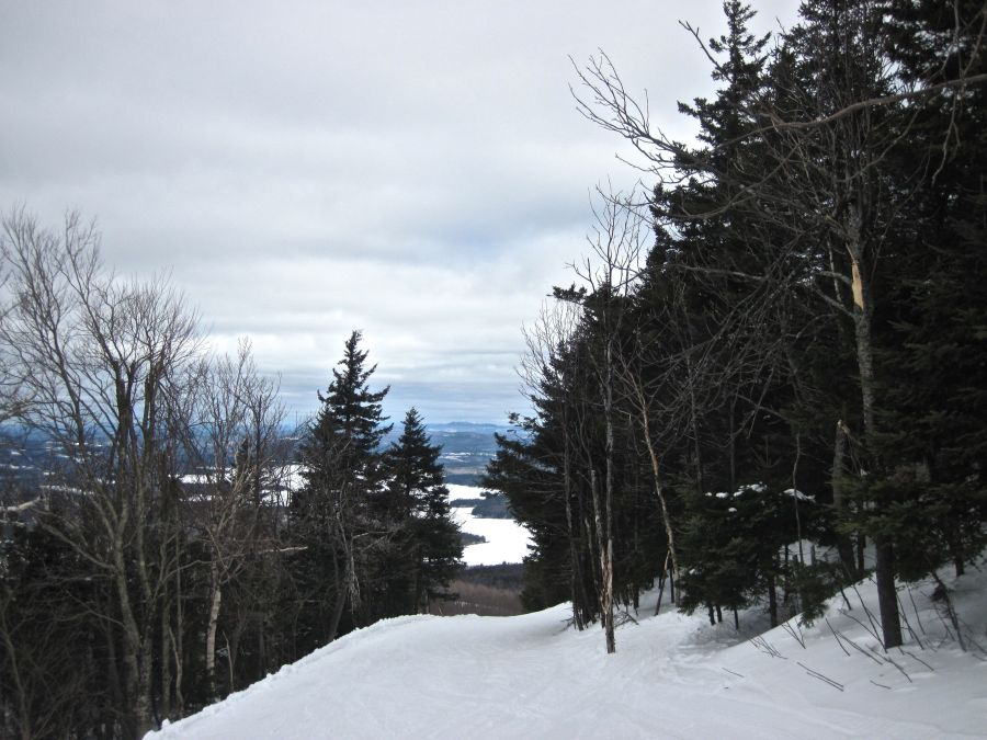 sunapee upper mountain view
