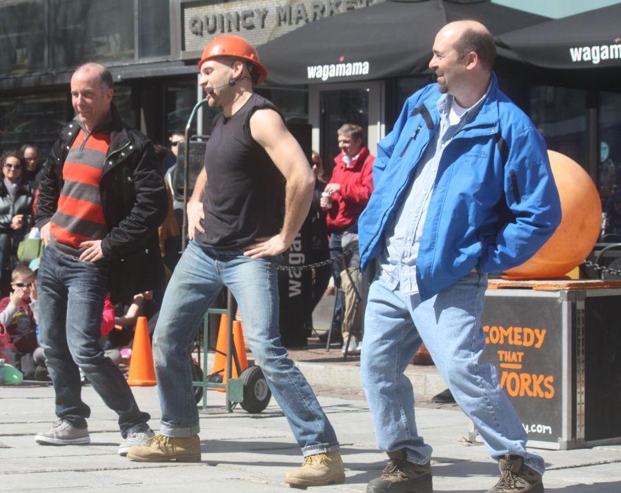 boston faneuil hall brett mccoy real mccoy comedy that works street performer 13