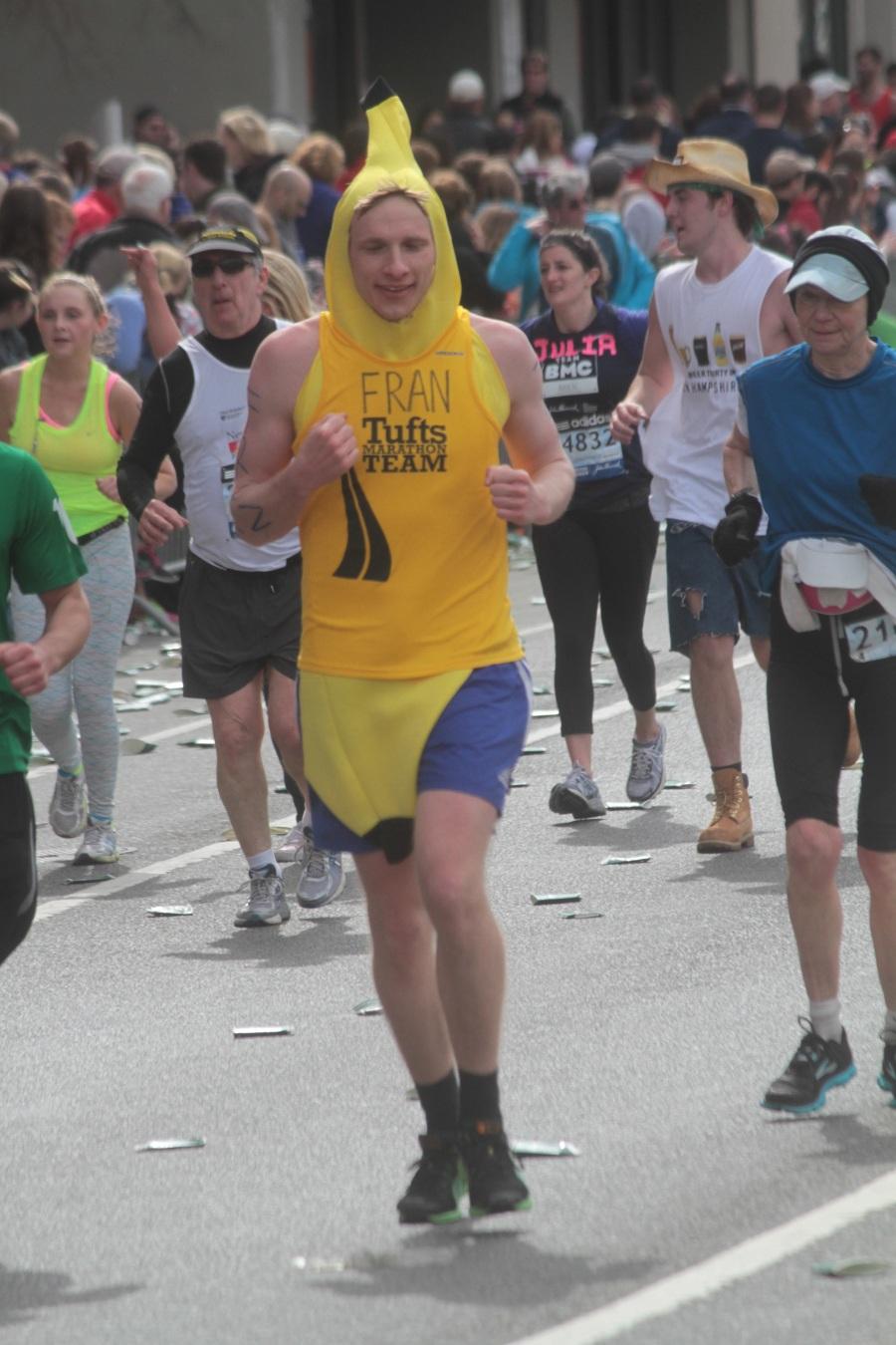 boston marathon 2013 banana man