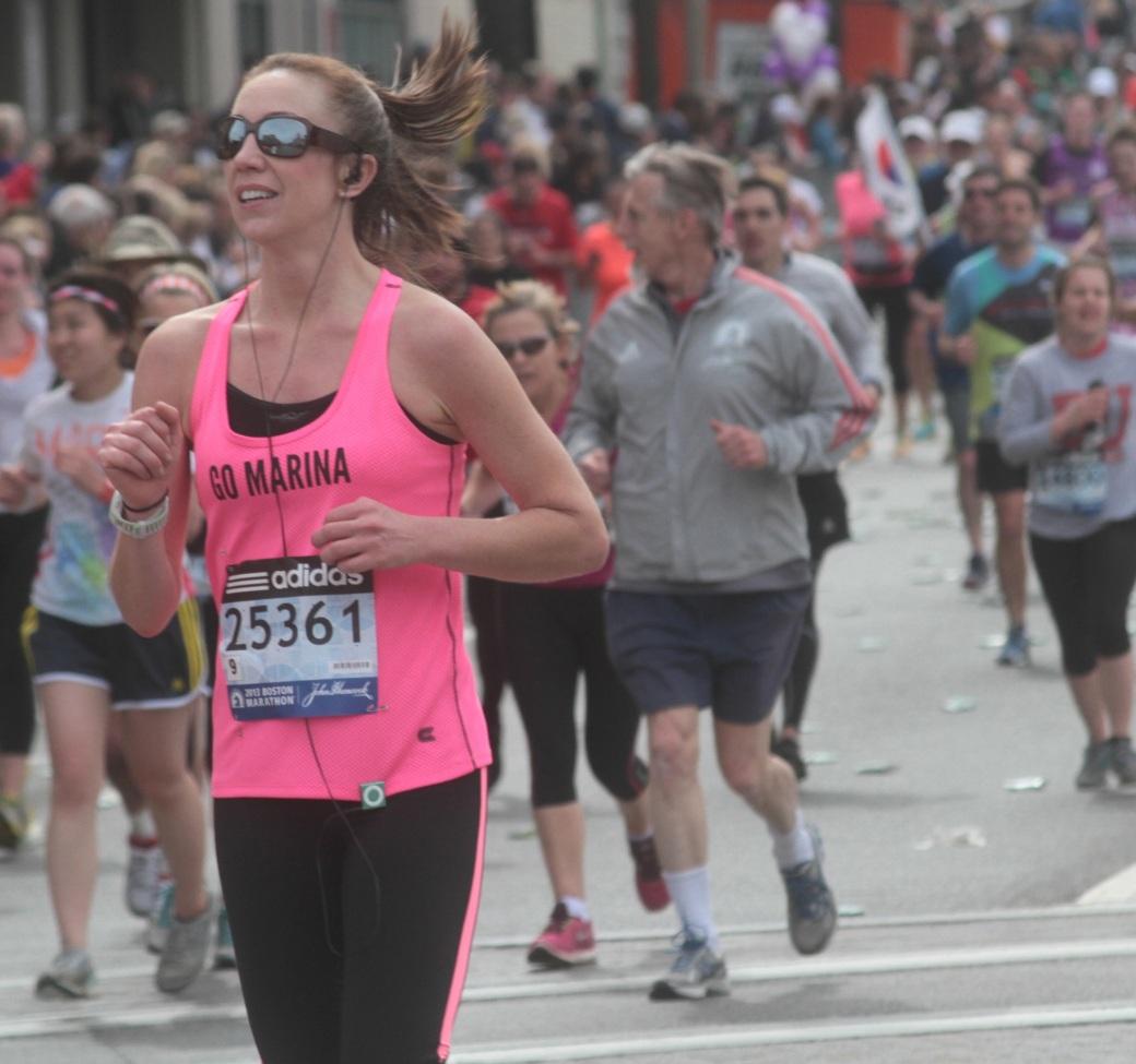 boston marathon 2013 go marina number 25361