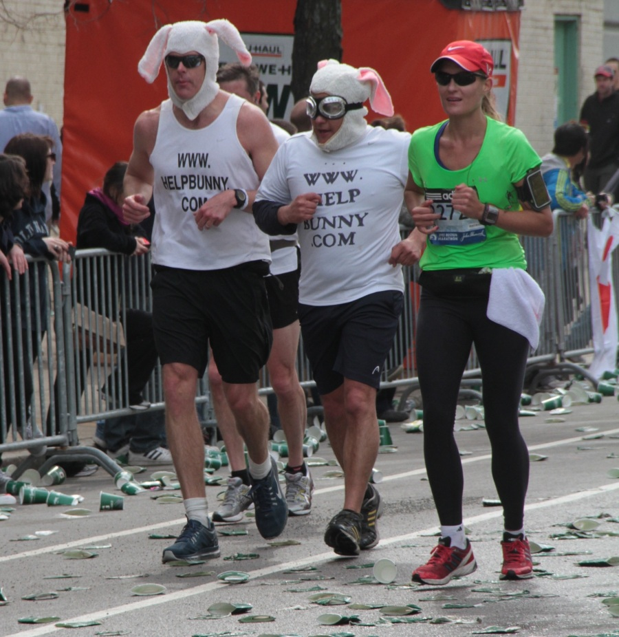 boston marathon 2013 helpbunny dot com