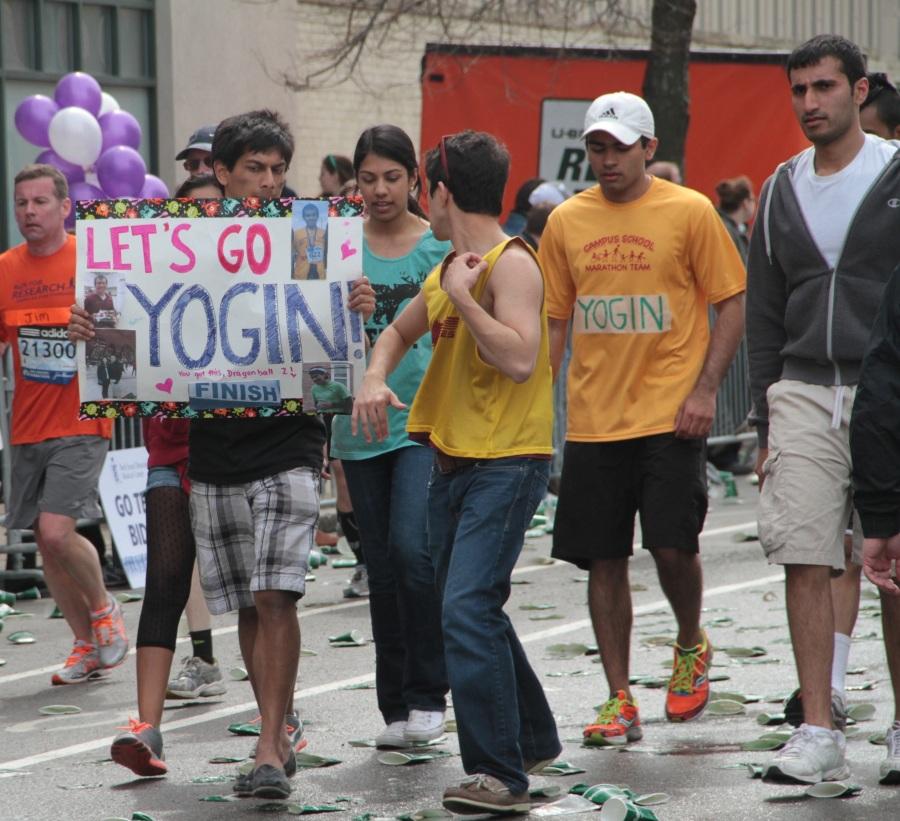 boston marathon 2013 let's go yogin