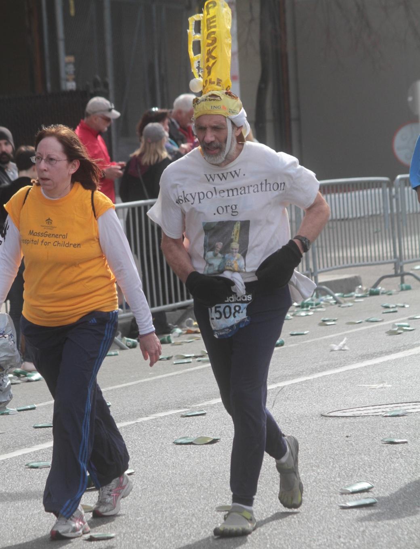 boston marathon 2013 sky pole marathon