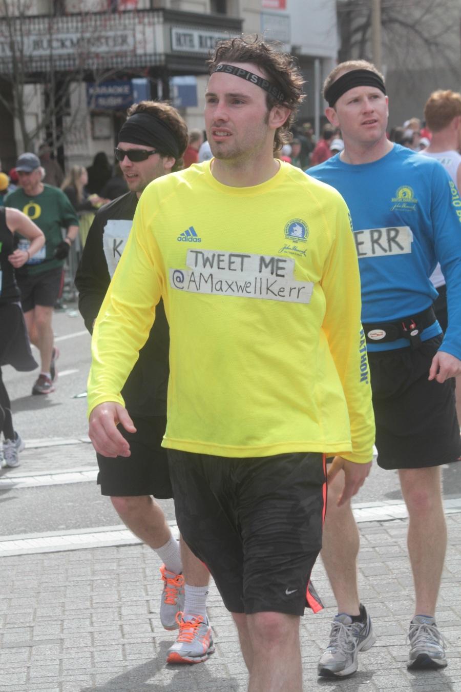 boston marathon 2013 tweet me maxwell kerr
