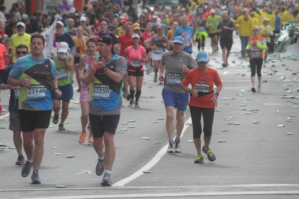 boston marathon 2013 wide shot