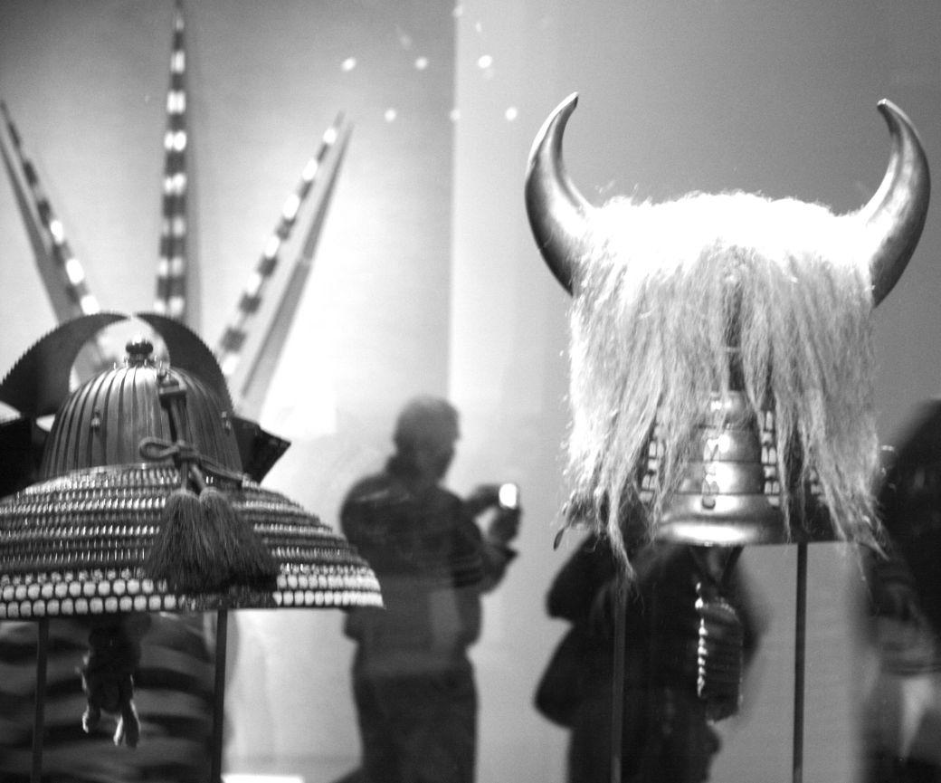 boston museum of fine arts samurai exhibit horned mask