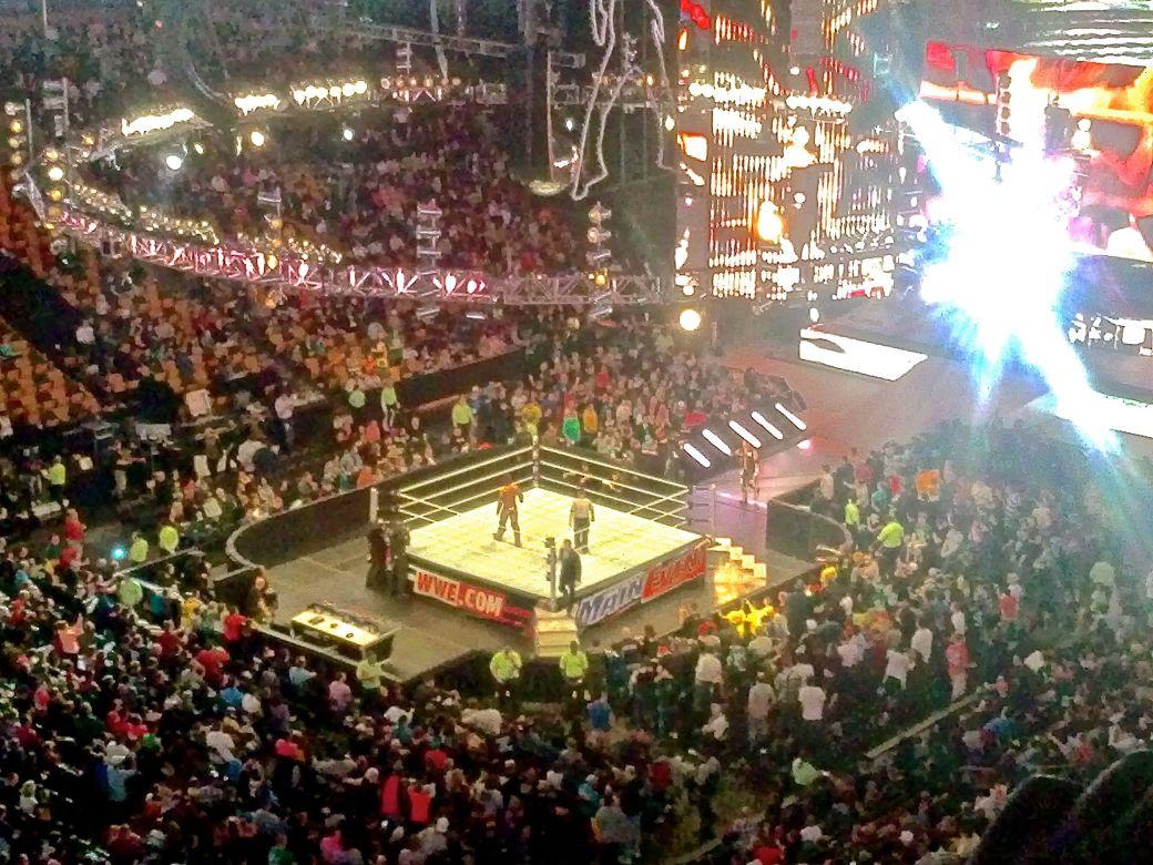 boston td north garden wwe professional wrestling april 9 2013