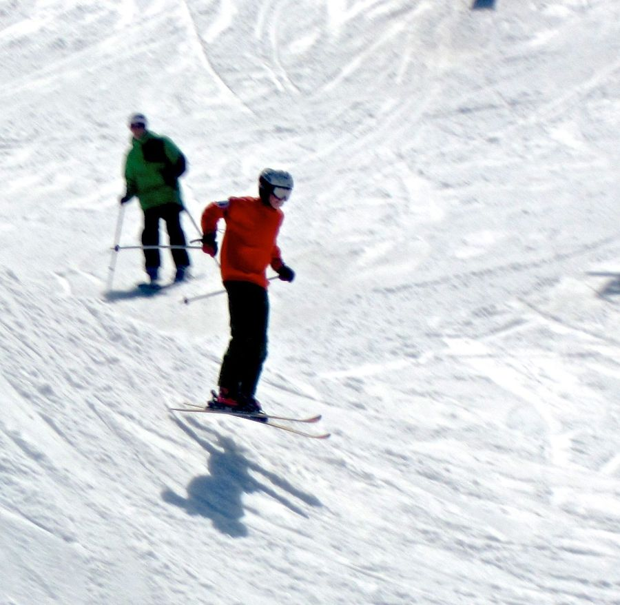 wachusett terrain park skier jump