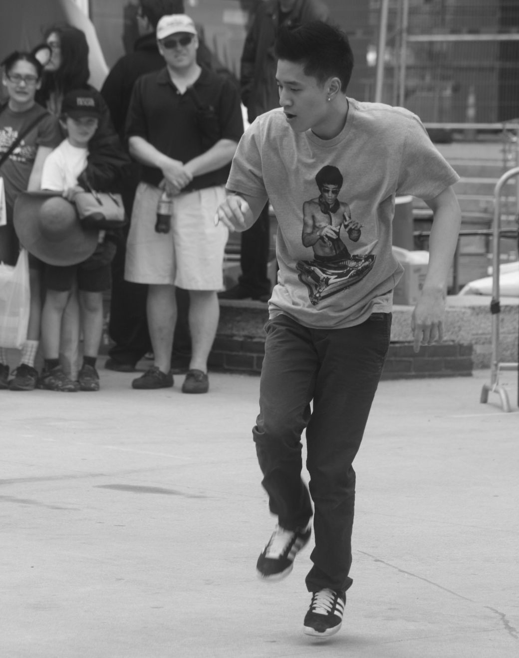 boston government center japanese festival may 19 2013 man breakdancing 2