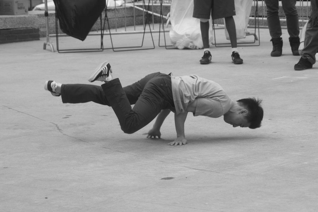 boston government center japanese festival may 19 2013 man breakdancing