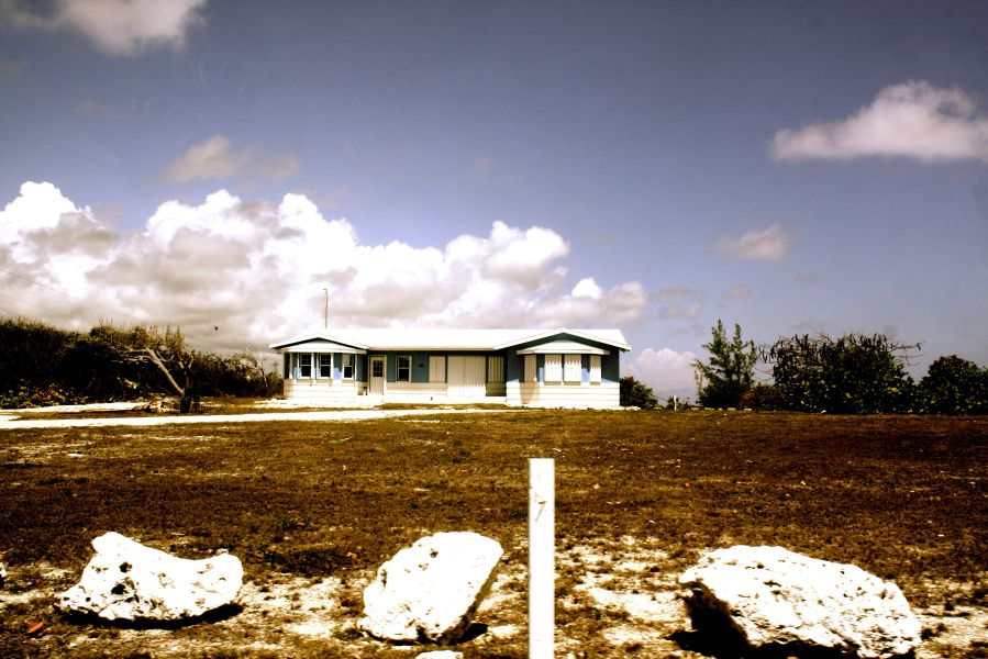 cayman islands bodden town house clouds