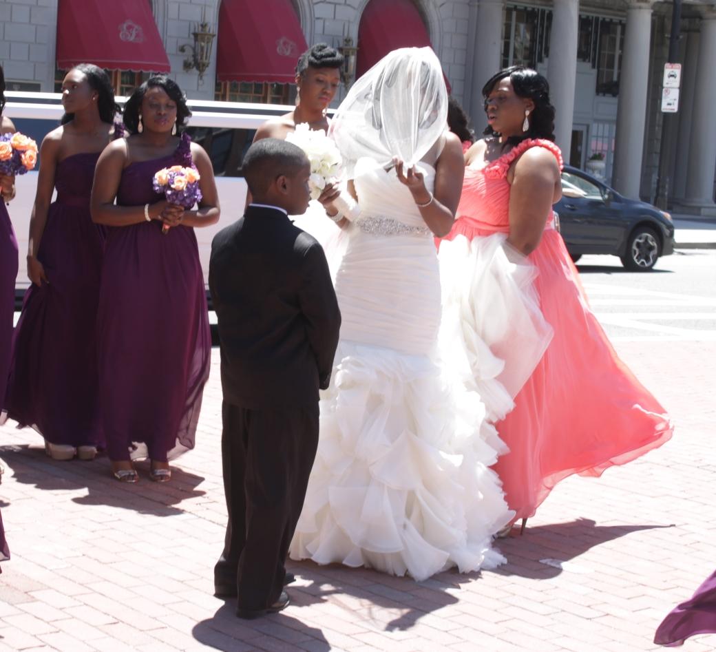 boston copley square copley square church wedding billows veil