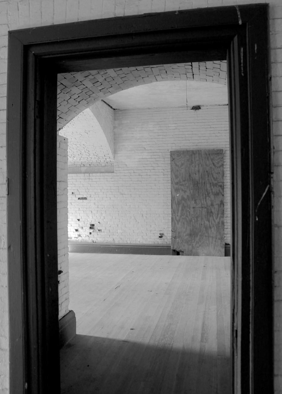 boston georges island fort warren inside hallways