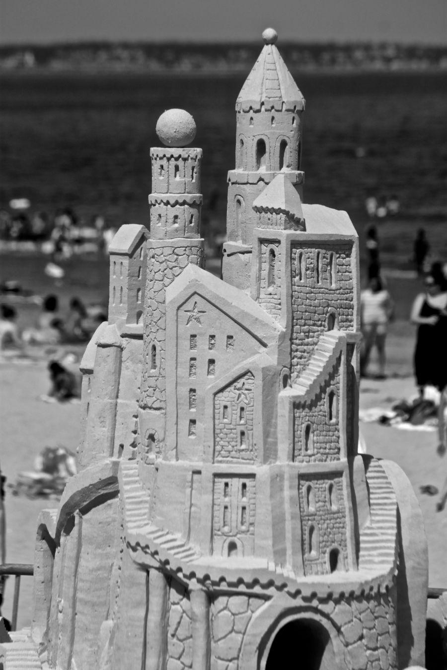 boston revere beach National Sand Sculpting Festival sand castle