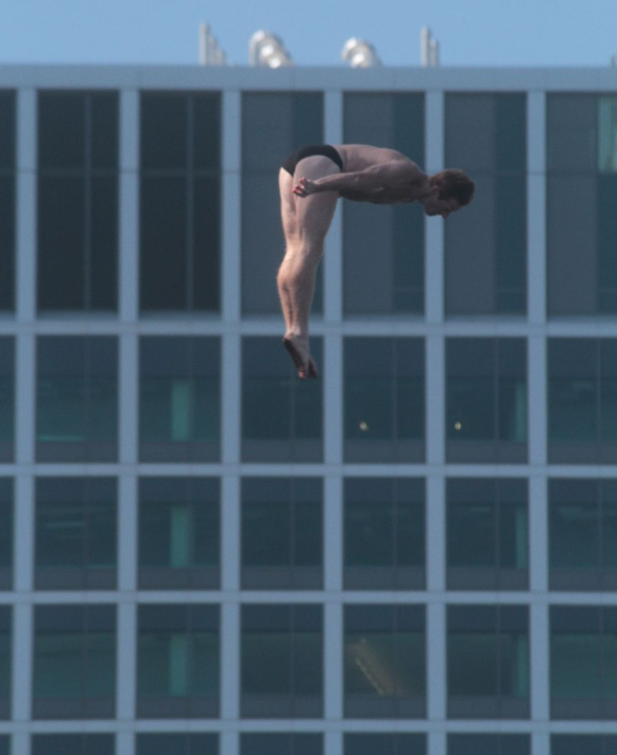 boston institute of contemporary art red bull diving competition august 25 2013 12