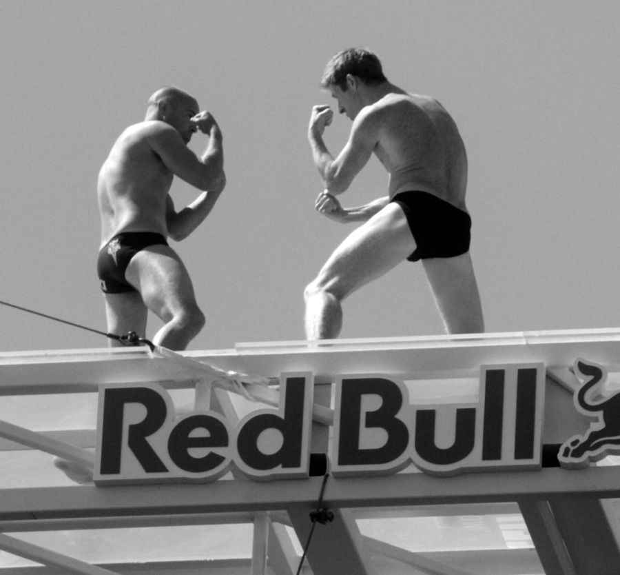boston institute of contemporary art red bull diving competition august 25 2013 divers play boxing