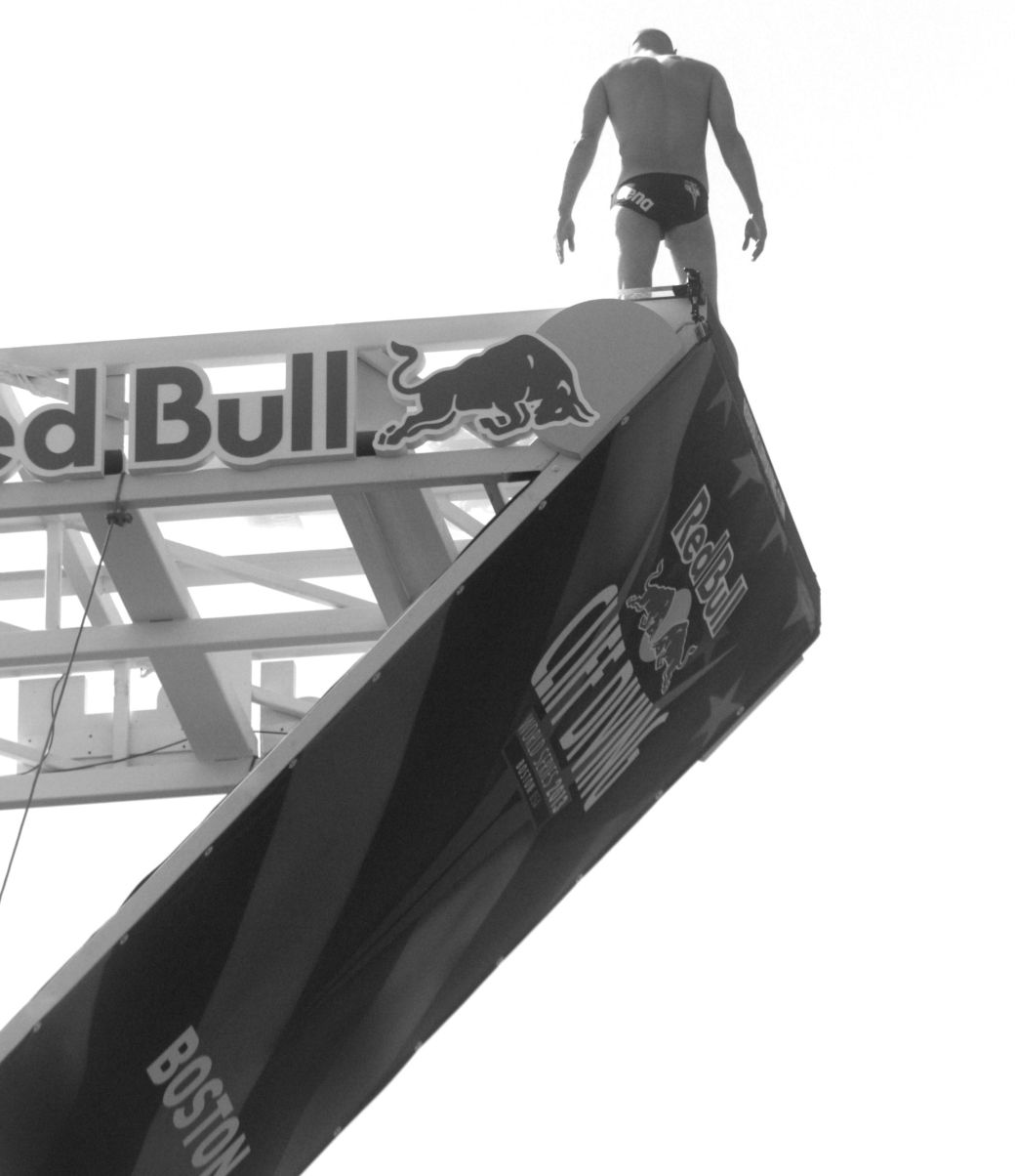 boston red bull diving contest august 25 institute of contemporary art contrast photos 2