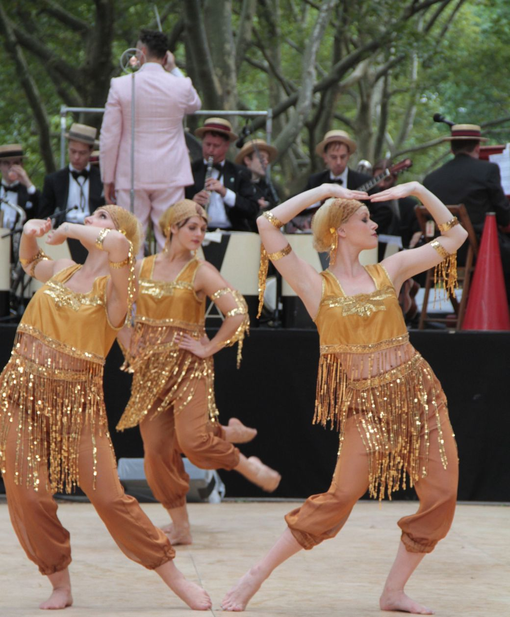 new york city governors island 20 jazz age party 2013 dreamland follies gold costume dance 2