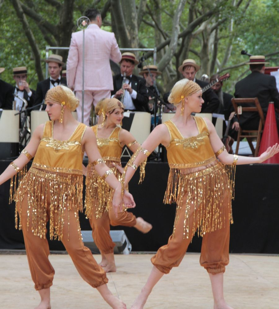 new york city governors island 20 jazz age party 2013 dreamland follies gold costume dance