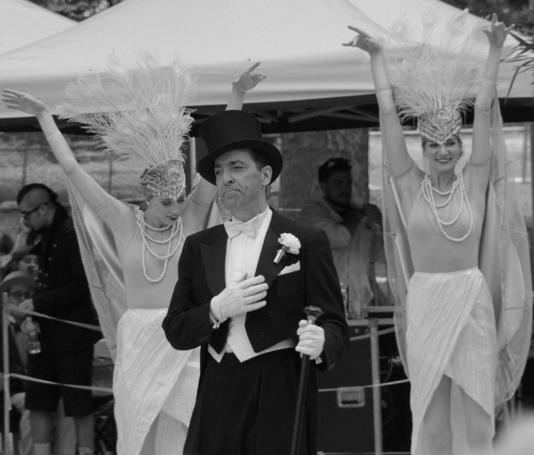 new york city governor's island jazz age party august 18 dreamland follies black white