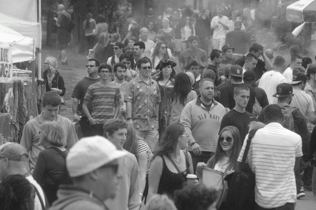 boston hemp fest 2013 crowd