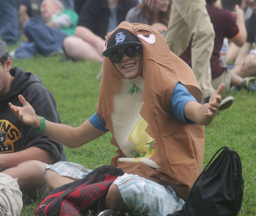 boston hemp fest 2013 guy in costume