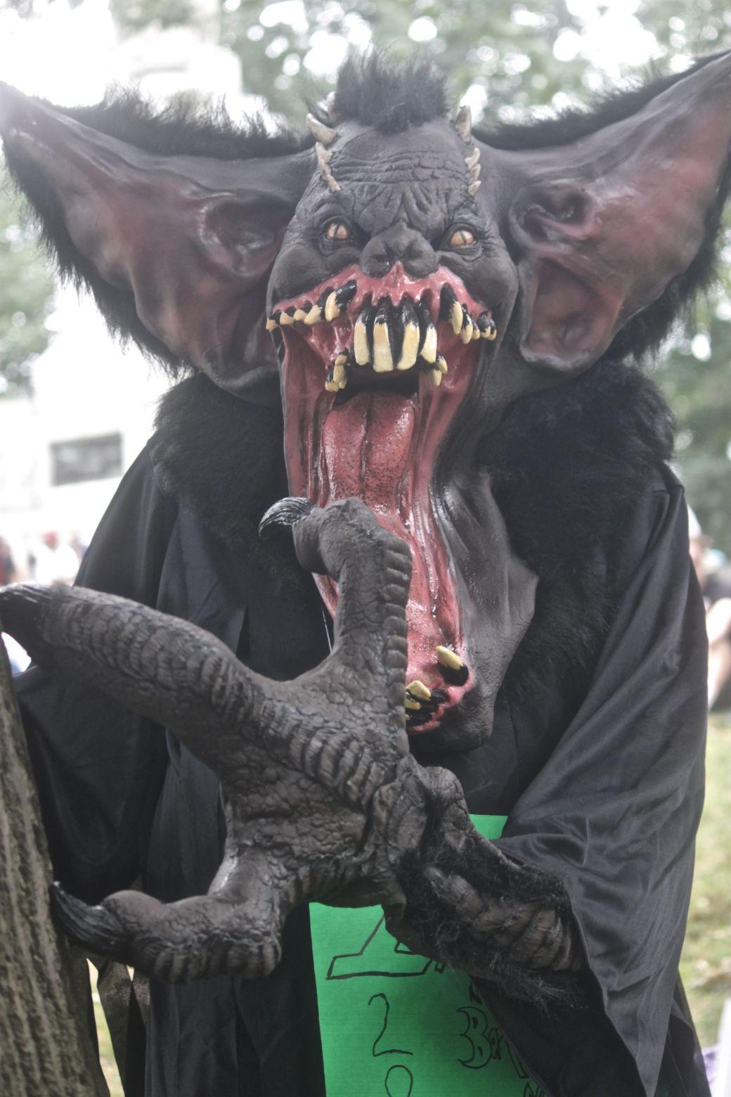 boston hemp fest 2013 man in giant rat costume