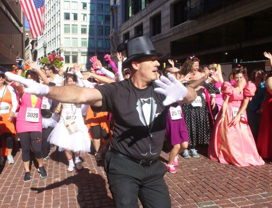 boston running with bridesmaids 2013 33