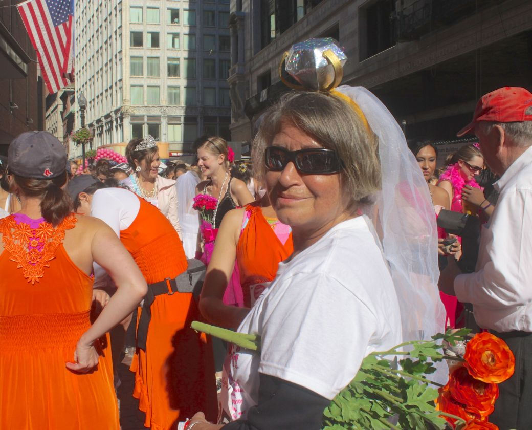boston running with bridesmaids 2013 34