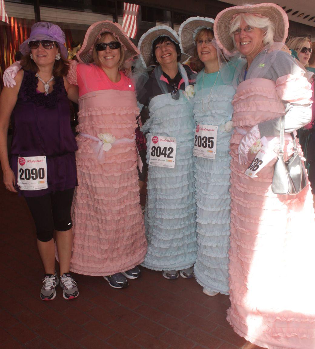 boston running with bridesmaids 2013 35