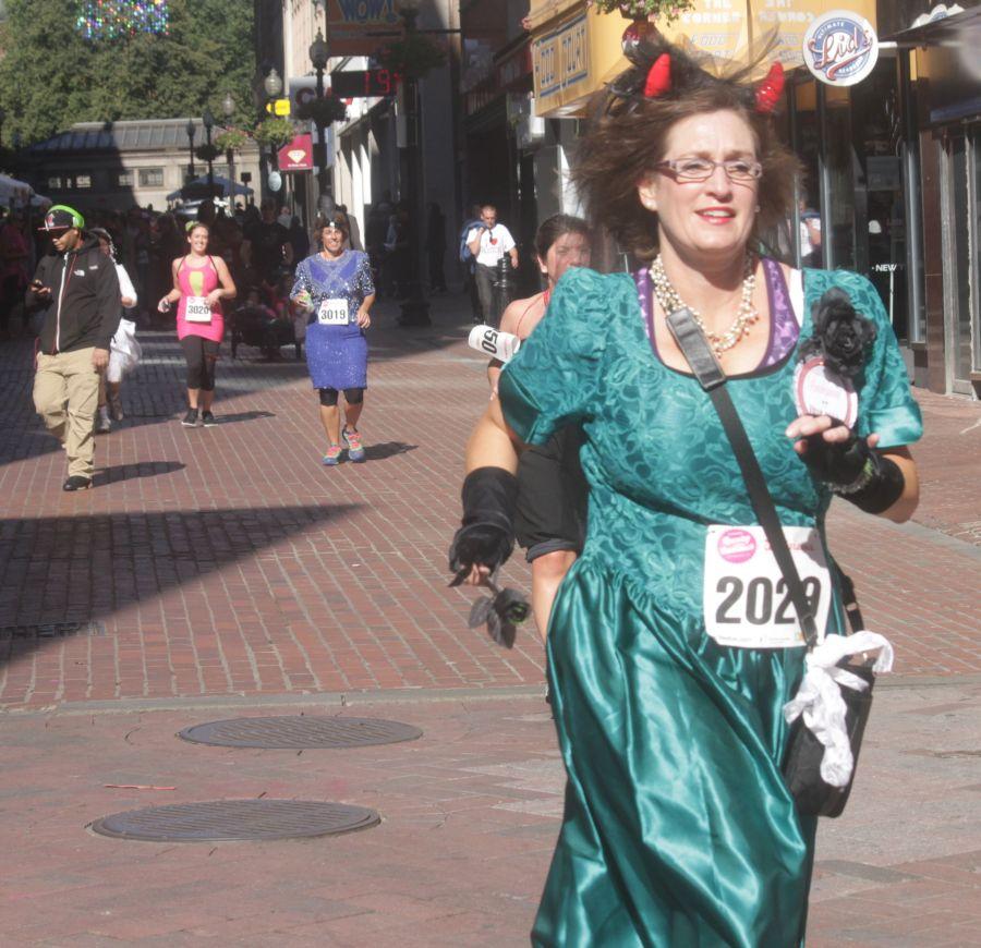 boston running with bridesmaids 2013 46