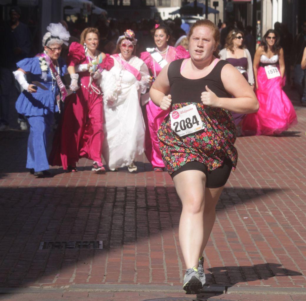 boston running with bridesmaids 2013 53