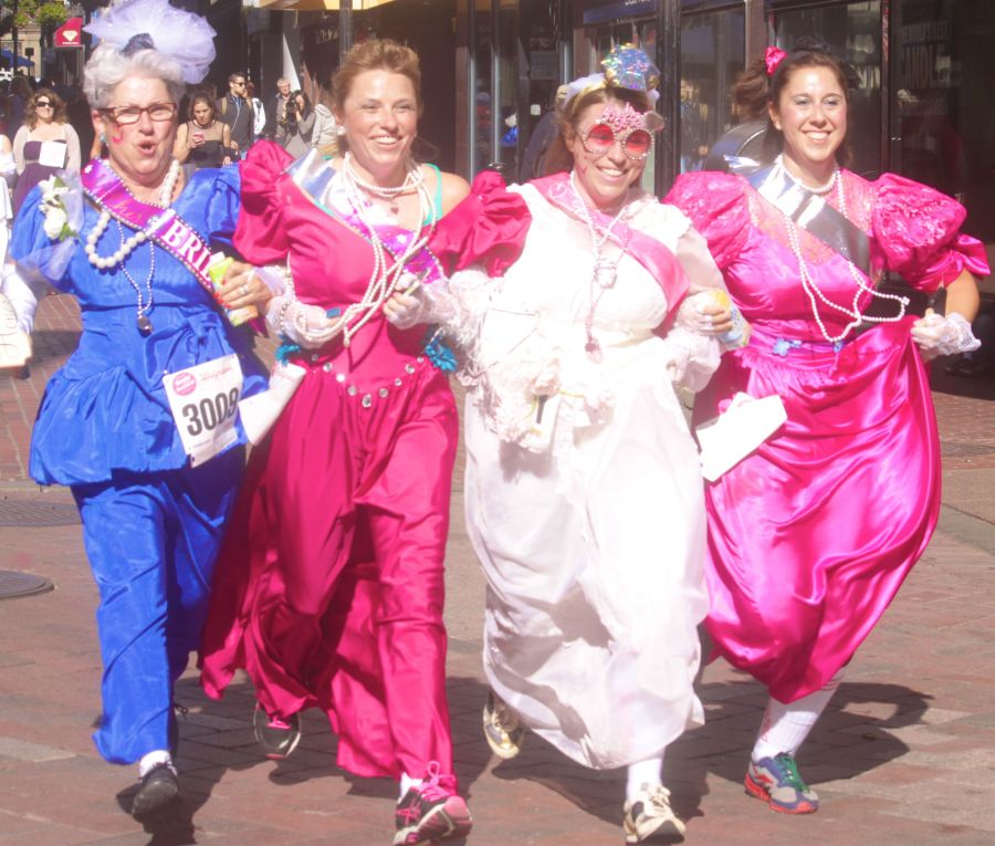 boston running with bridesmaids 2013 54