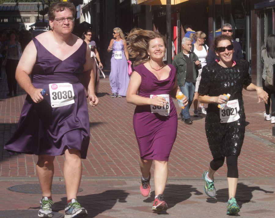 boston running with bridesmaids 2013 57