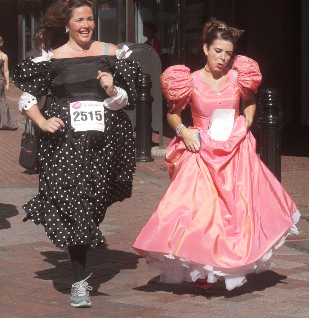 boston running with bridesmaids 2013 58
