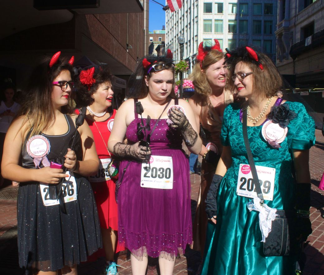 boston running with the bridesmaids 2013 12