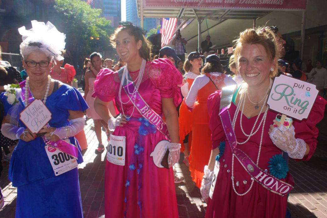 boston running with the bridesmaids 2013 14