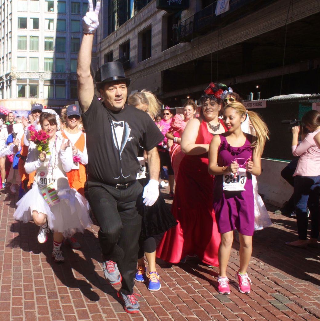 boston running with the bridesmaids 2013 20