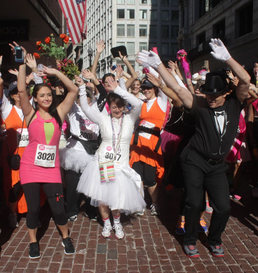 boston running with the bridesmaids 2013 29
