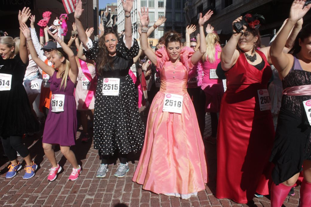 boston running with the bridesmaids 2013 30