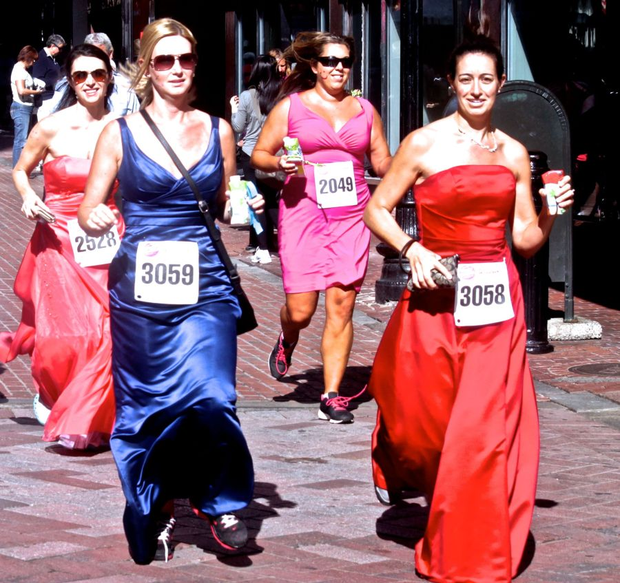 boston running with the bridesmaids 78