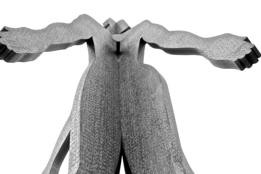 baltimore penn station Jonathan Borofsky's Male:Female statue black white 4