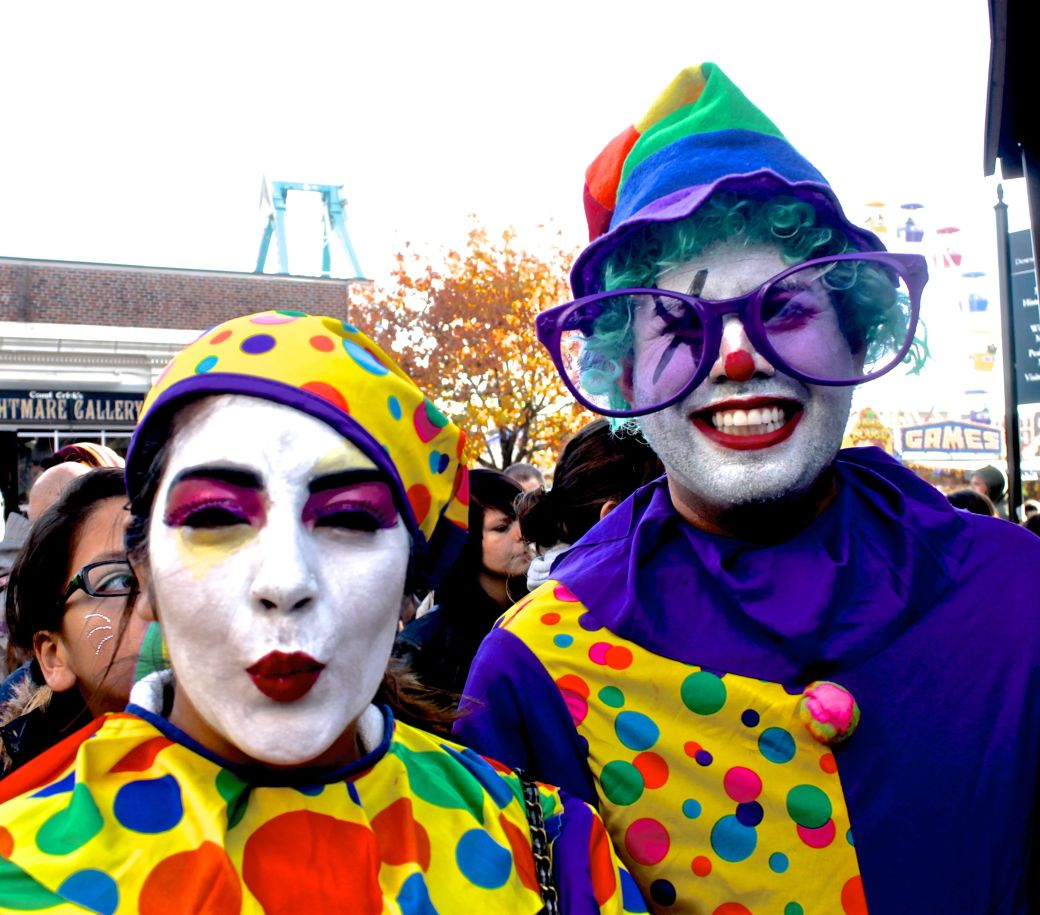 salem halloween 2013 clowns